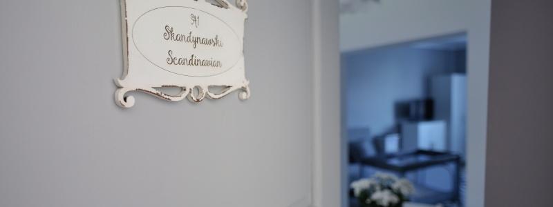pokój skandynawski noclegi Lu apartments