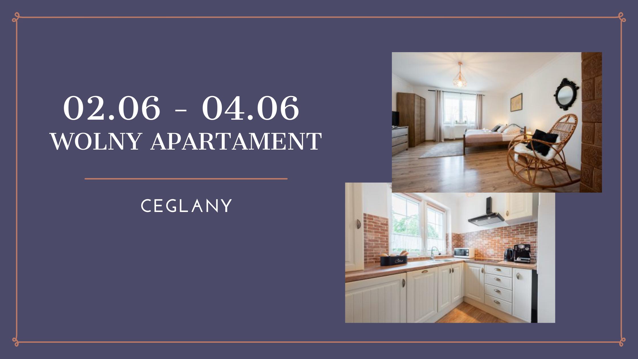 Wolny apartament Oświęcim od 02.06 do 04.06