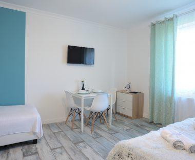 Pokój marynistyczny w Lu Apartments