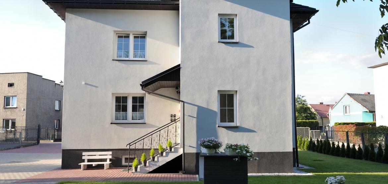 guesthouse near Auschwitz