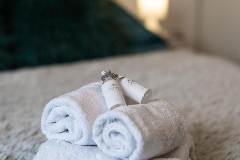 Szampony i mydła dla gości